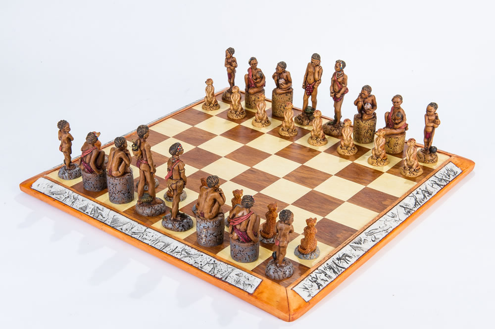unique chess sets bushmen chess set 187 kumbula shop 29893