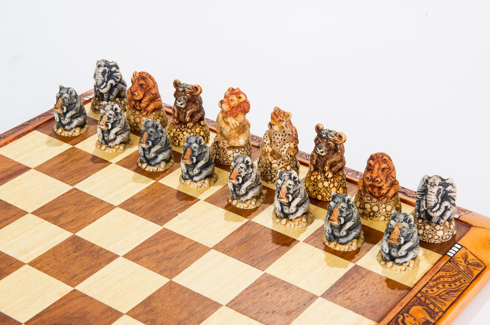Detailed Chess Set Part - 33: ONLY $183.00